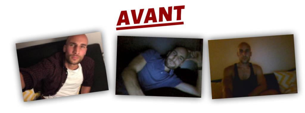 L'avant des miniatures de profil de Sam